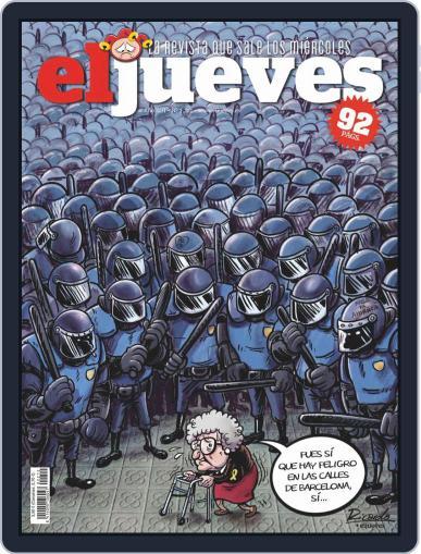 El Jueves (Digital) October 15th, 2019 Issue Cover