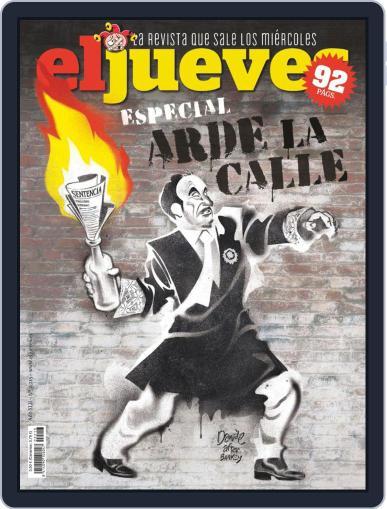El Jueves (Digital) October 22nd, 2019 Issue Cover