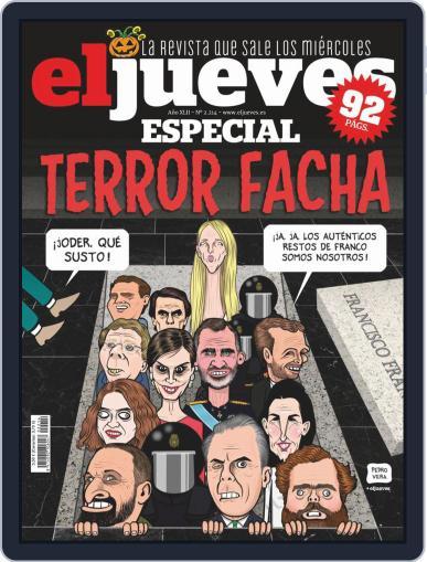 El Jueves (Digital) October 29th, 2019 Issue Cover