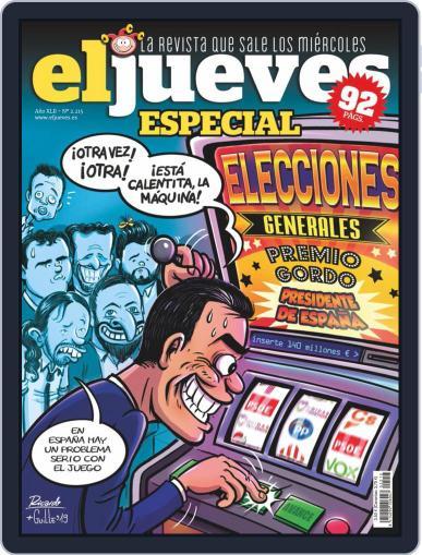 El Jueves (Digital) November 5th, 2019 Issue Cover
