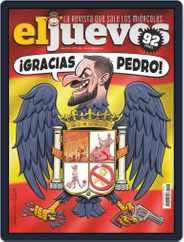 El Jueves (Digital) Subscription November 12th, 2019 Issue
