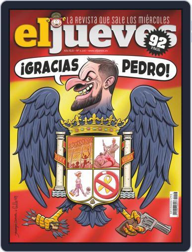 El Jueves (Digital) November 12th, 2019 Issue Cover