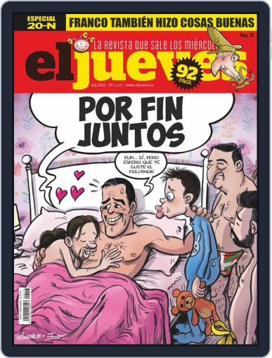 El Jueves (Digital) November 20th, 2019 Issue Cover