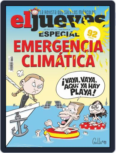 El Jueves (Digital) December 4th, 2019 Issue Cover
