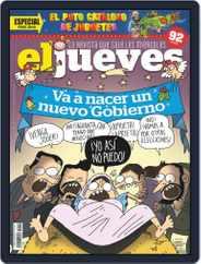 El Jueves (Digital) Subscription December 11th, 2019 Issue