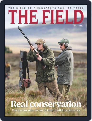 The Field March 1st, 2020 Digital Back Issue Cover