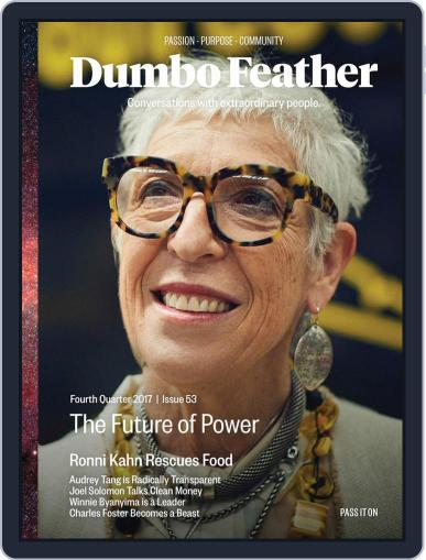 Dumbo Feather (Digital) October 1st, 2017 Issue Cover