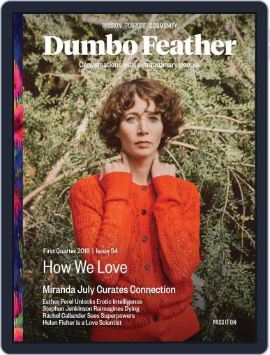 Dumbo Feather (Digital) January 1st, 2018 Issue Cover