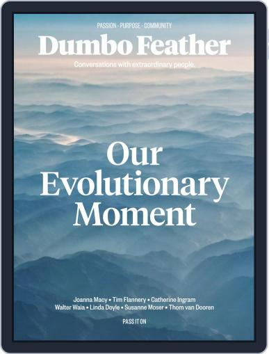 Dumbo Feather (Digital) October 1st, 2019 Issue Cover