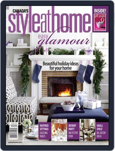 Style At Home Canada (Digital) October 29th, 2009 Issue Cover