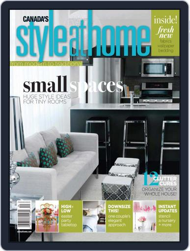 Style At Home Canada (Digital) April 1st, 2010 Issue Cover