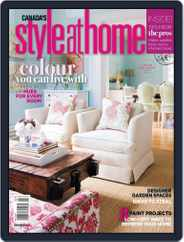 Style At Home Canada (Digital) Subscription May 1st, 2010 Issue
