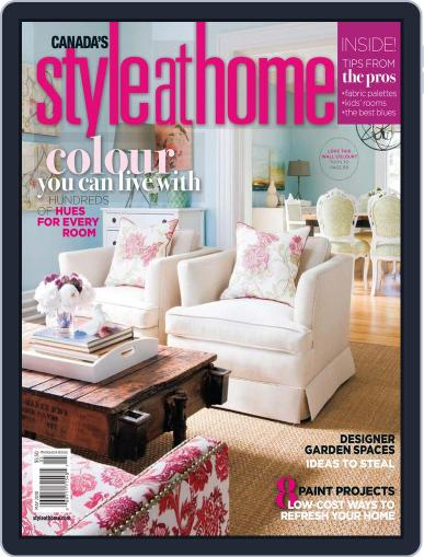 Style At Home Canada (Digital) May 1st, 2010 Issue Cover