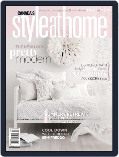 Style At Home Canada (Digital) July 1st, 2010 Issue Cover