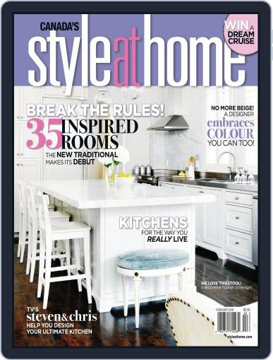 Style At Home Canada (Digital) December 17th, 2010 Issue Cover