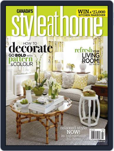 Style At Home Canada (Digital) May 2nd, 2011 Issue Cover
