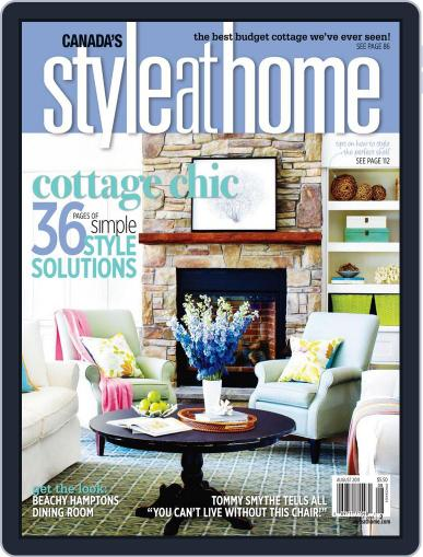 Style At Home Canada (Digital) June 24th, 2011 Issue Cover