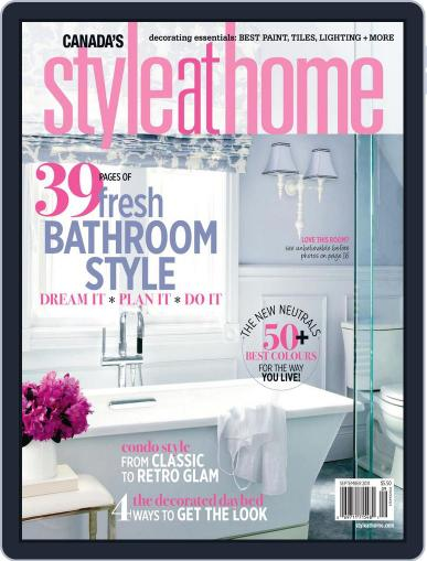 Style At Home Canada (Digital) August 2nd, 2011 Issue Cover