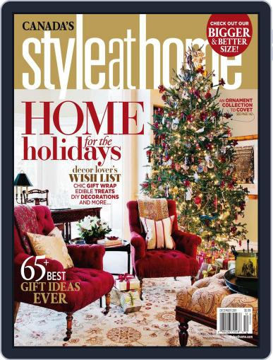 Style At Home Canada (Digital) December 1st, 2011 Issue Cover