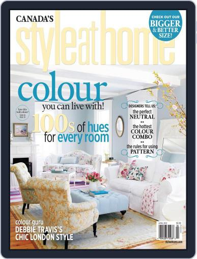 Style At Home Canada (Digital) February 28th, 2012 Issue Cover