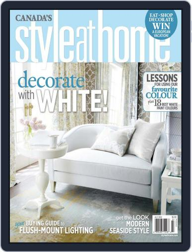 Style At Home Canada (Digital) June 13th, 2012 Issue Cover