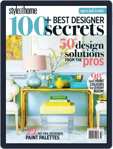 Style At Home Canada (Digital) July 25th, 2012 Issue Cover