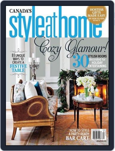 Style At Home Canada (Digital) November 13th, 2012 Issue Cover