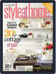 Style At Home Canada (Digital) Subscription July 2nd, 2013 Issue