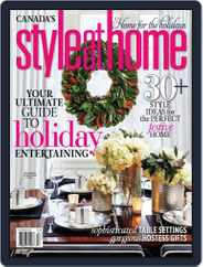 Style At Home Canada (Digital) Subscription November 5th, 2013 Issue