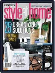 Style At Home Canada (Digital) Subscription January 28th, 2014 Issue