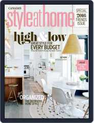 Style At Home Canada (Digital) Subscription December 1st, 2015 Issue