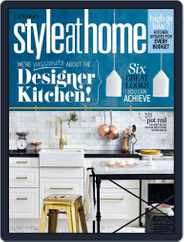 Style At Home Canada (Digital) Subscription March 1st, 2016 Issue