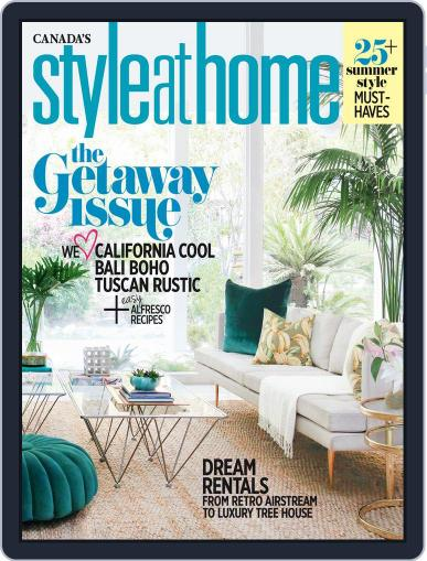 Style At Home Canada (Digital) May 31st, 2016 Issue Cover