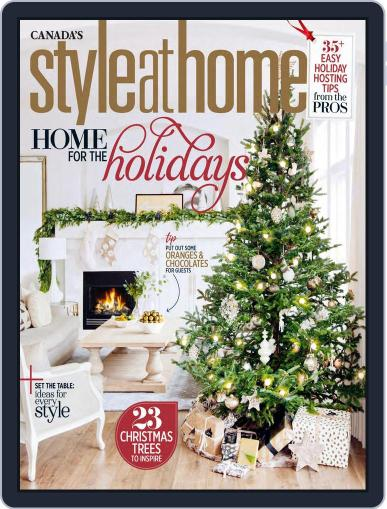 Style At Home Canada (Digital) December 1st, 2016 Issue Cover