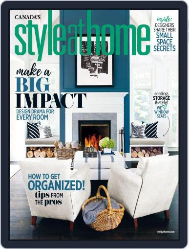 Style At Home Canada (Digital) March 1st, 2017 Issue Cover
