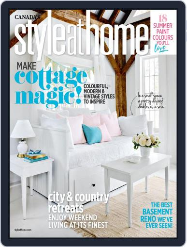 Style At Home Canada (Digital) August 1st, 2017 Issue Cover