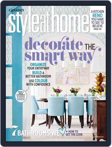 Style At Home Canada (Digital) September 1st, 2017 Issue Cover