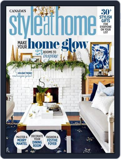 Style At Home Canada (Digital) November 1st, 2017 Issue Cover