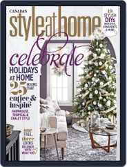 Style At Home Canada (Digital) Subscription December 1st, 2017 Issue