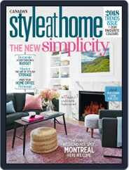Style At Home Canada (Digital) Subscription January 1st, 2018 Issue