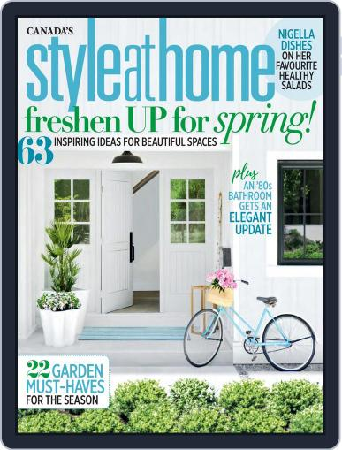 Style At Home Canada (Digital) May 1st, 2018 Issue Cover