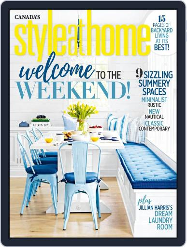 Style At Home Canada (Digital) July 1st, 2018 Issue Cover