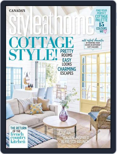Style At Home Canada (Digital) August 1st, 2018 Issue Cover