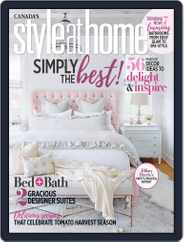 Style At Home Canada (Digital) Subscription September 1st, 2018 Issue