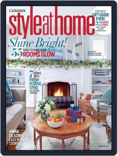 Style At Home Canada (Digital) November 1st, 2018 Issue Cover