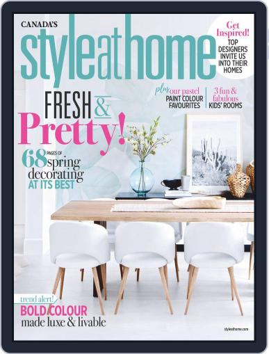 Style At Home Canada (Digital) April 1st, 2019 Issue Cover