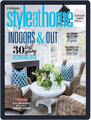 Style At Home Canada (Digital) May 1st, 2019 Issue Cover