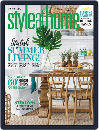 Style At Home Canada (Digital) June 1st, 2019 Issue Cover
