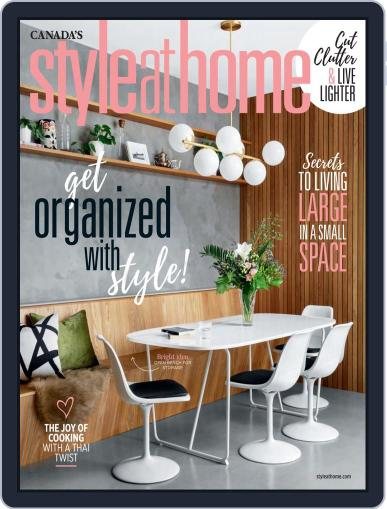 Style At Home Canada (Digital) March 1st, 2020 Issue Cover