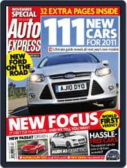Auto Express (Digital) Subscription October 20th, 2010 Issue